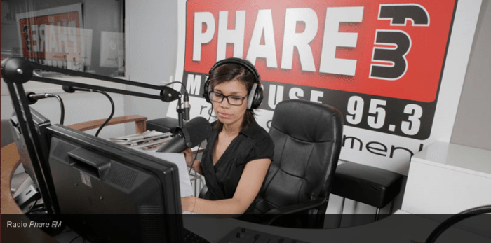 Studio Phare FM  Mulhouse
