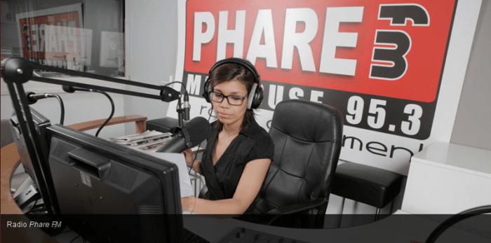 Studio Phare FM à Mulhouse