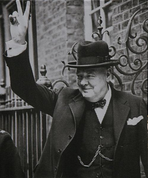 Victoire avec Churchill