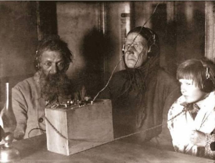 Radio en ligne URSS 1930